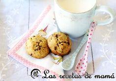 galletas de leche condensada con trocitos de chocolate