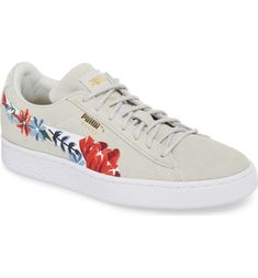 6cf1951a1a48 Free shipping and returns on PUMA Suede Hyper Embellished Sneaker (Women)  at Nordstrom.