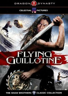 Flying Guillotine : The film that started it all! Hong Kong kung fu cinema is filled with all types of inventive weaponry, but few are as original, iconic or over-the-top as THE. FLYING GUILLOTINE, and this was the first film to use it. Kung Fu Martial Arts, Martial Arts Movies, Martial Artists, Kung Fu Movies, Karate Movies, Hong Kong Movie, Chor, Classic Collection, Action Movies