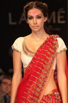 Anand Kabra blouse
