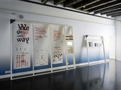 """Les cadres"", exhibition design by ALEXIS GEORGACOPOULOS"