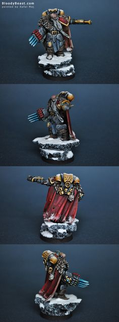 Space Wolf Rune Priest with Plasma Pistol and Lightning Claw