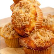 Cinnamon-Streusel Cider Muffins, Recipe from Cooking.com