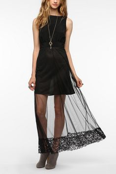 Nom De Plume By YaYa Fiona Maxi Dress   #UrbanOutfitters    just bought this! :)
