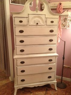 Painted Highboy With Finial