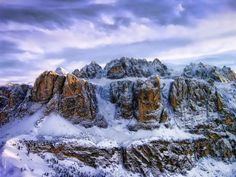 HDR - Sella Group, Dolomites by ~Kworalsoa on deviantART