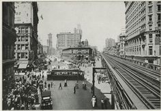 Broadway and Herald Square, looking north, New York, 1911.