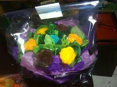 Flower bouquet cupcakes11