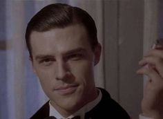 "Finn Wittrock as Rudolph Valentino got me like, ""Tristan WHO??"""
