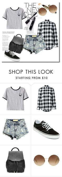 """""""Sem título #232"""" by bear-pretty ❤ liked on Polyvore featuring Chicnova Fashion, Golden Goose, Vans, rag & bone and Victoria Beckham"""