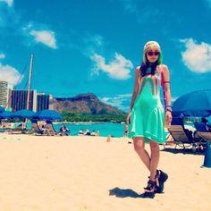 RT @th5mayu: the last day:( #hawaii #waikiki #waikikibeach #oahu #aloha #adidasoriginals #wildfox #k3 #katespade #style #me #outfit #sea #beach #sky at Waikīkī Beach http://flip.it/NA08Z