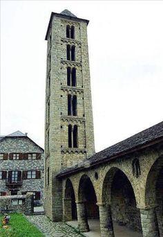 Santa Eulalia de Erill-la-Vall. Lleida.