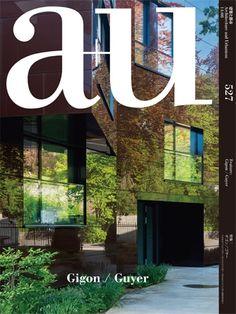 A+U: Architecture and urbanism. Nº 527. 2014: 08. Gigon / Guyer.  Sumario: https://www.japlusu.com/shop/product/au-201408 Na biblioteca: http://kmelot.biblioteca.udc.es/record=b1179698~S1*gag