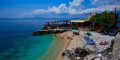 Пляж Ниссаки Corfu Island, Greece, Explore, Water, Beaches, Outdoor Decor, Greece Country, Gripe Water, Sands