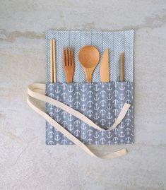 This item is unavailable Zero Waste Cutlery Utensils Wrap Reusable wooden bamboo Zero Waste Store, Reduce Reuse Recycle, Reduce Waste, Plastic Waste, Wrap, Laura Lee, Green Life, Sustainable Living, Eco Friendly