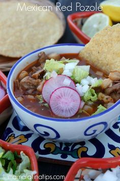 This red pozole is m