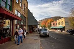 Downtown Boone North Carolina- Loved going to college here!!!