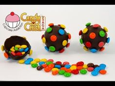 CANDY BOMB Pinatas! How to Make Candy Crush Saga Colour Bombs by Cupcake Addiction, Learn how to make these delicious treats, and heaps more!