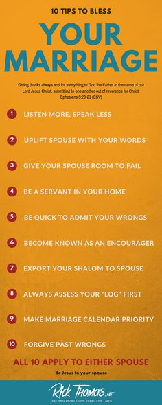 10 Tips to BLESS Your Marriage