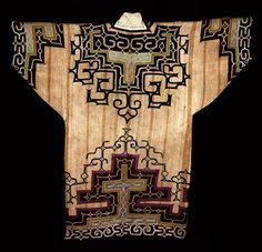 ainu embroidery, japan