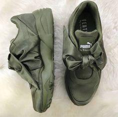 Fenty x Puma Bow Sneakers  Pinterest: @Theyadoreme