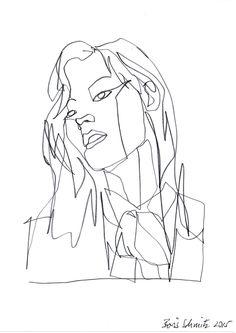 Drawing art artwork sketch minimal pale artists on tumblr for Art of minimal boris