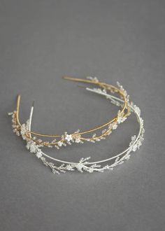 Blanchett delicate wedding crown bridal tiara gold wedding etsy 53 latest casual hairstyles for 2019 get your inspiration today! Bridal Crown, Bridal Tiara, Headpiece Wedding, Wedding Veils, Bridal Headpieces, Wedding Crowns, Gold Wedding, Gold Headpiece, Wedding Bands