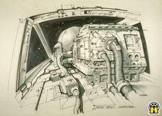 MIS ARCHIVOS DE STAR WARS: El Imperio Contraataca. Joe Johnston (Art Director Visual Effects, Miniature and Optical Effects Unit)