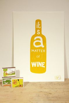 """It's a matter of wine..."" Cheers #WineSister!"