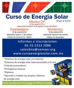 Curso de energia solar, aprende a instalar tu propio sistema de energia solar