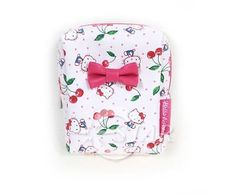 Hello Kitty Pouch Mini Bag Cherry StrawBerry Pattern Mini Bag, Hello Kitty, Cherry, Strawberry, Pouch, Unisex, Pattern, Bags, Accessories
