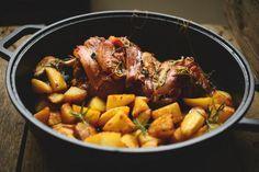 ricetta perfetta, agnello forno con patate