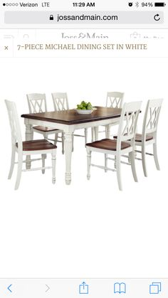 Joss and Main dining set
