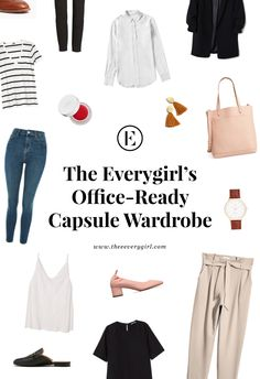 We're sharing a bunch of our office-appropriate basics and few great ways to wear them. See below for the outfits we wear on repeat.