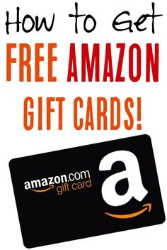 Free Printable Cards, Free Gift Cards, Win Free Gifts, Free Stuff By Mail, Get Free Stuff, Amazon Gifts, Gift Card Giveaway, Financial Tips, School