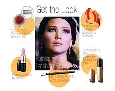 How To Get The Jennifer Lawrence Makeup Look From The Hunger Games Movie: Catching Fire's Katniss Everdeen
