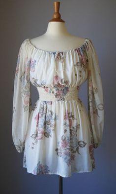 Vintage 70s Boho dress