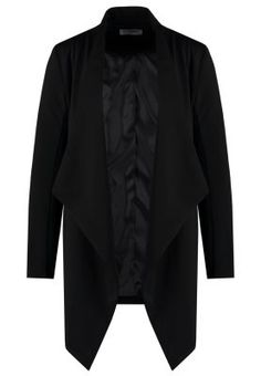 Glamorous Blazer - black for Free delivery for orders over Black Blazers, Duster Coat, Glamour, Jackets, Fashion, Kleding, Down Jackets, Moda, Fashion Styles