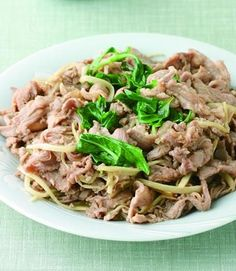 quick-fried mutton slices with scallions