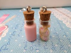 Strawberry Milk and Cookies Best Friend Necklace Set: BFF Forever