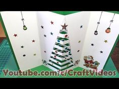 How to make Christmas Cards for Kids Pop Up christmas greeting cards for kids at home. How to make Christmas Cards, Pop Up christmas greeting cards at home, Every parents want to know How to make Christmas Pop Up Christmas Cards, Beautiful Christmas Cards, Christmas Card Crafts, 3d Christmas, Homemade Christmas Cards, Christmas Greetings, Xmas Greeting Cards, Xmas Cards, Greeting Cards Handmade