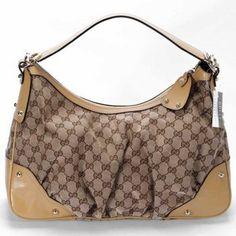 Gucci Hobo Bag Jockey medium hobo 211966 yellow $160