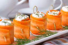 Zdrowe przekąski z marchewki