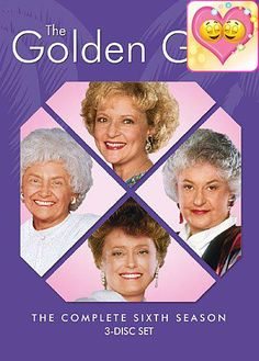 #awesome Join Florida's favorite housemates for Season Six of the multiple Emmy(R) and #Golden Globe(R) Award-winning comedy, THE GOLDEN #GIRLS. Beatrice Arthur, ...