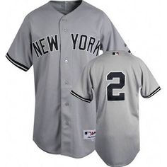 Steiner Derek Jeter Authentic New York Yankees Road Jersey