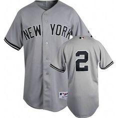 Steiner Derek Jeter Authentic New York Yankees Road Jersey