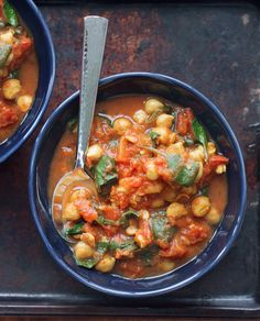 Chana Masala Recipe Cauliflower Soup Recipes, Chickpea Recipes, Veggie Recipes, Vegetarian Recipes, Cooking Recipes, Protein Recipes, Curry Recipes, Chili Recipes, Easy Chickpea Curry