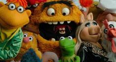 Muppets eating other Muppets