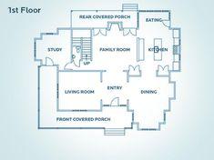 First Floor Plan For Hgtv Dream Home 2009 Plans Online Free