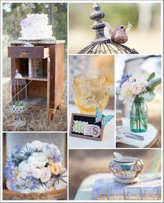 boho chic wedding idea 20